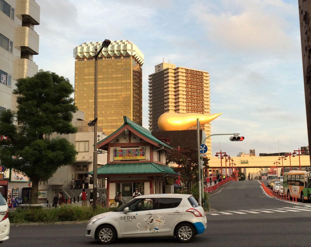 asakusa asahi building stark tokyo japan