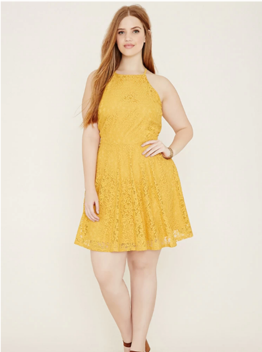 Robe Moutarde Forever21