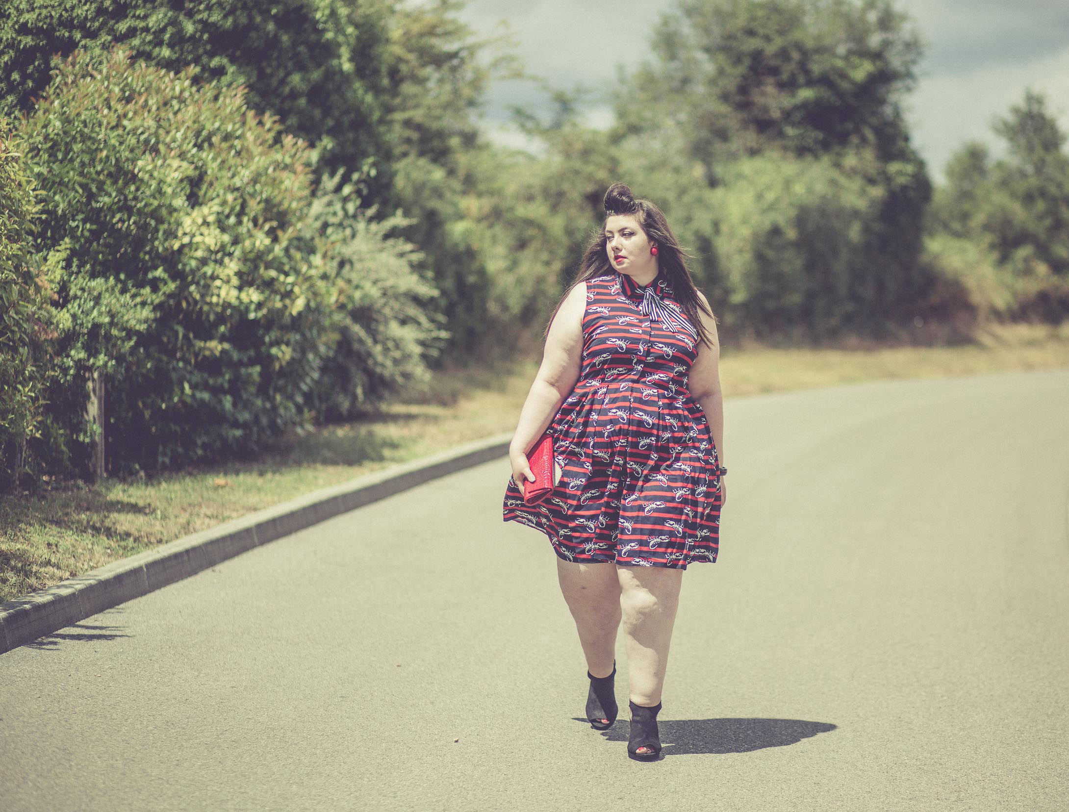 Scorpio dress eloquii plus size curvy girl blog mode grande taille