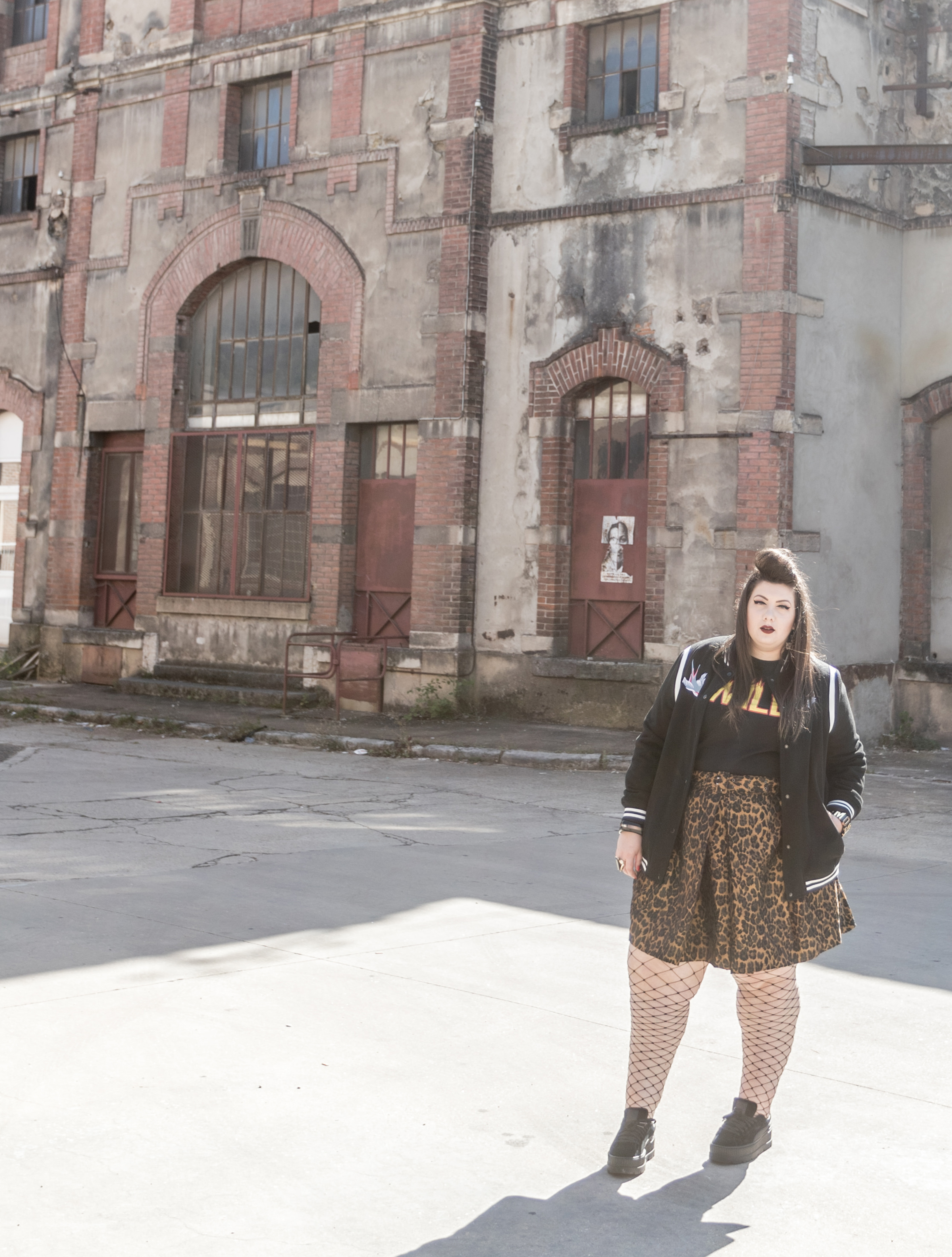 leopard wild embroid plus size curvy bbw blogger body positive asos