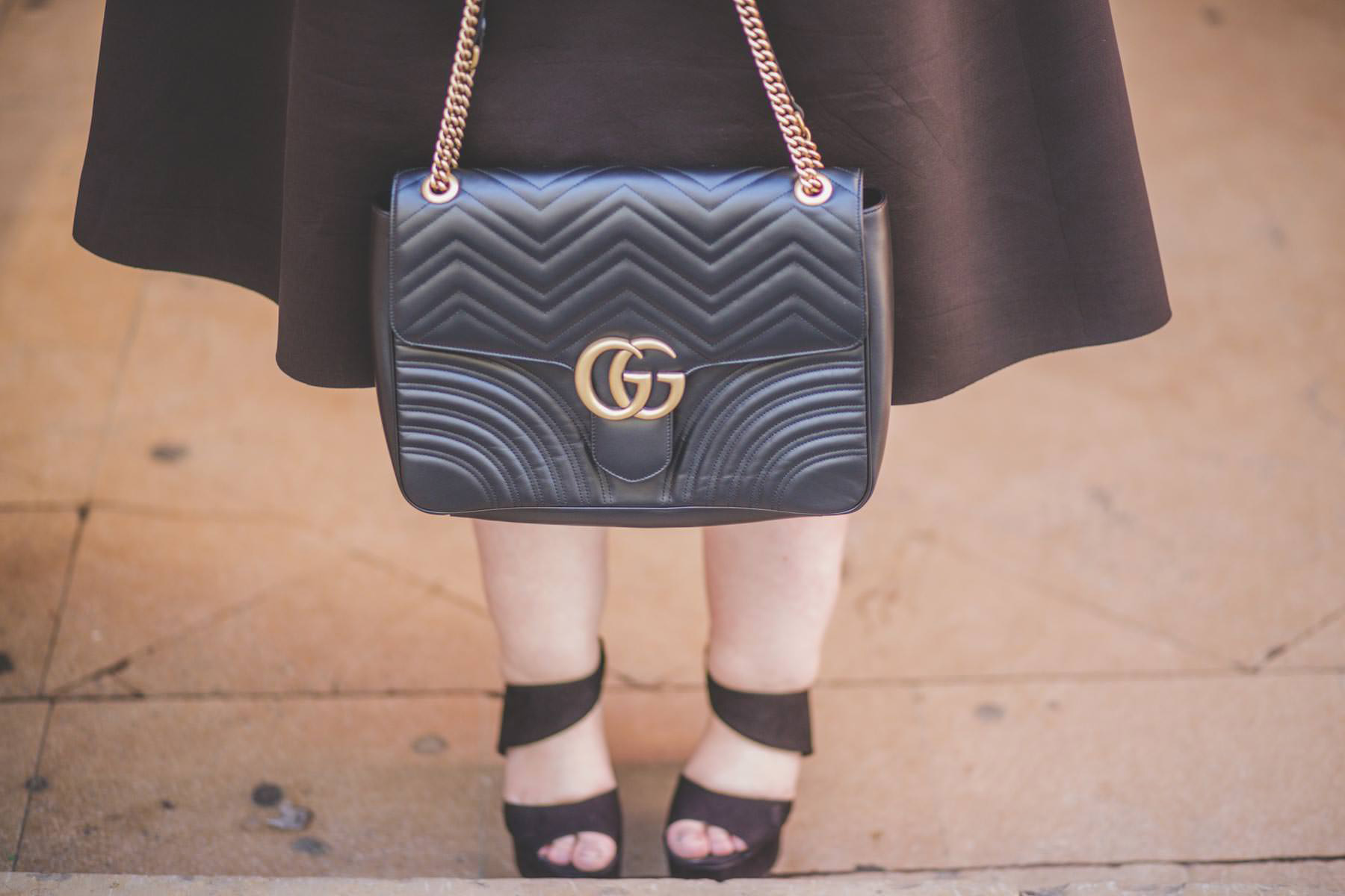 gucci marmont luxury bag plus size blogger