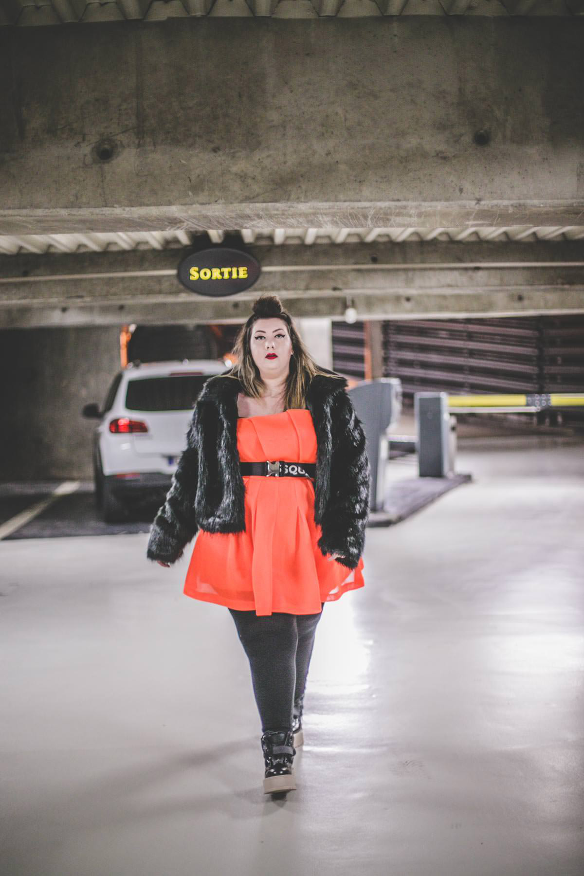 plus size blogger model asos curve orange bbw curvy girl ronde grosse blog