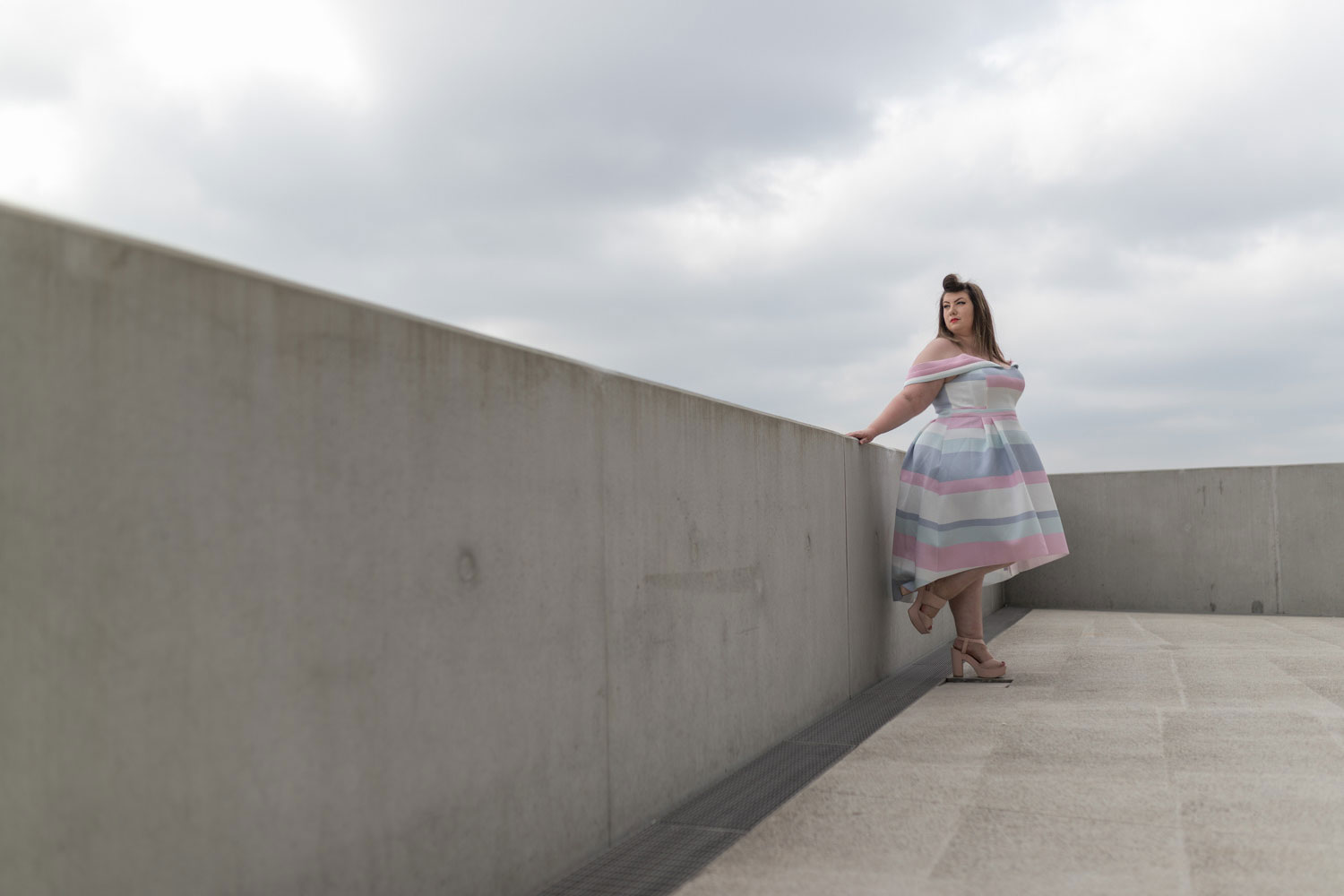 asos curve wedding dress plus size grande taille curvy blogger