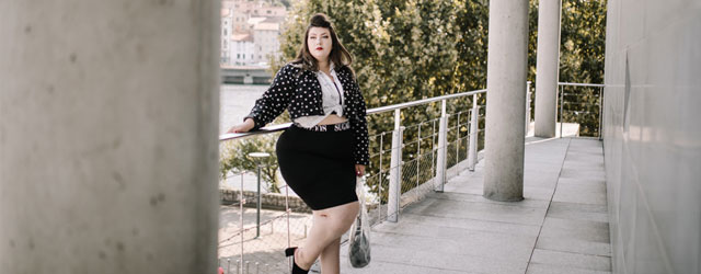 booho plus shein grande taille plus size blogger curvy girl polka dot wide fit shoes