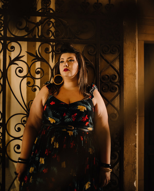 plus size fashion torrid curvy girl pin up blogger ronde lyon