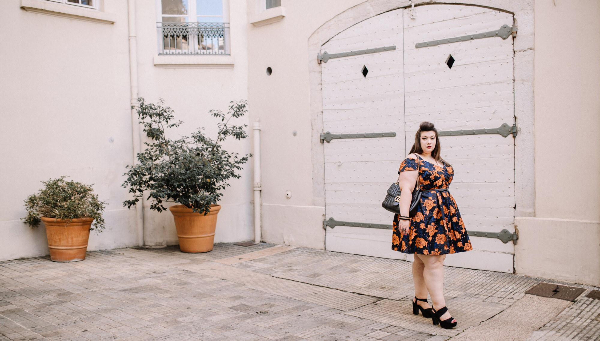 lovedrobe dress plus size la redoute curvy girl grande taille body positive blogger