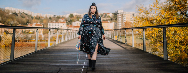blog mode grande taille plus size dress asos curve galaxy ronde grosse dodue lyon