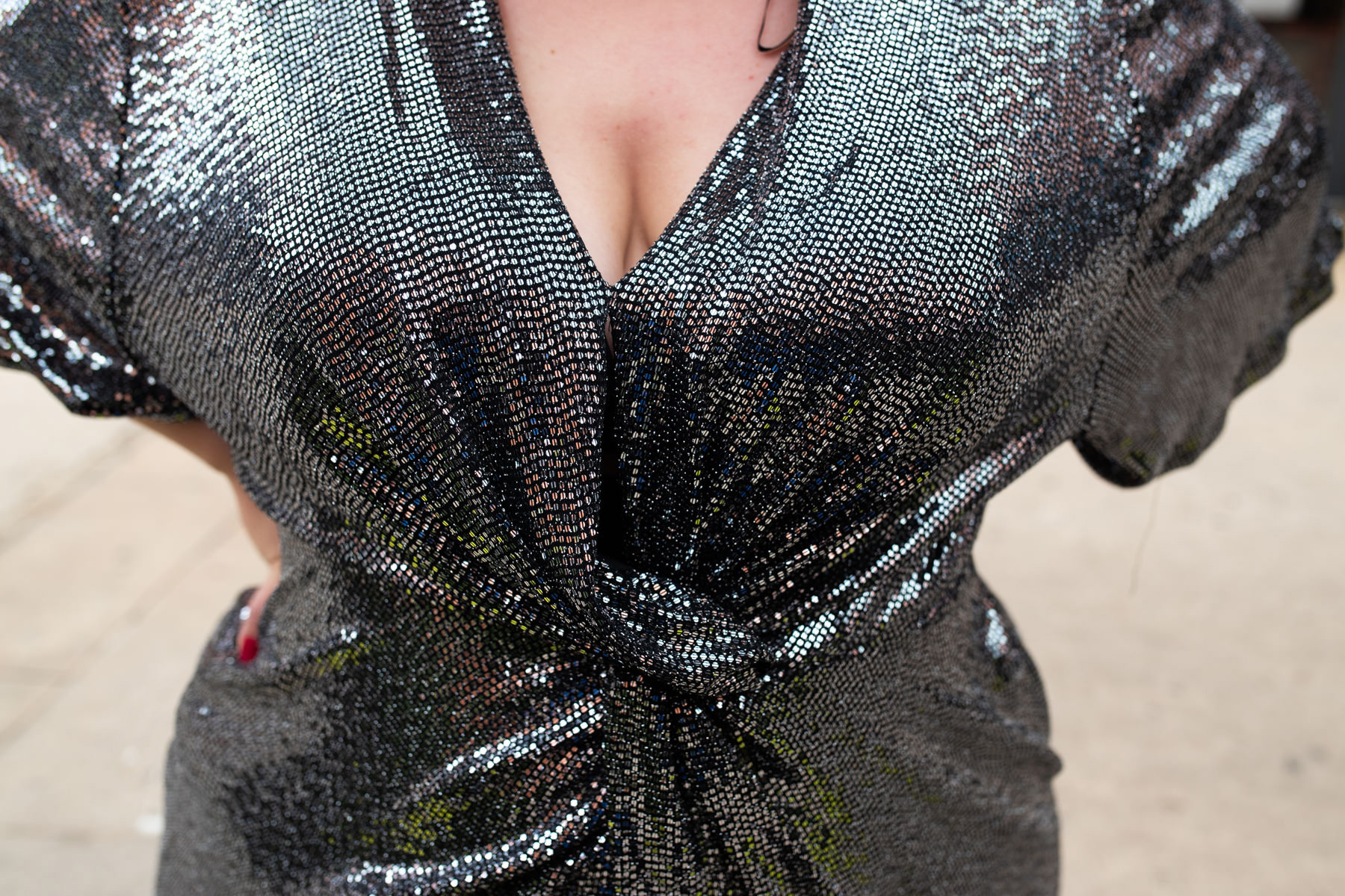 robe fêtes paillettes grande taille party sequins curvy girl virginie grossat fashion blogger lyon ronde fat grosse