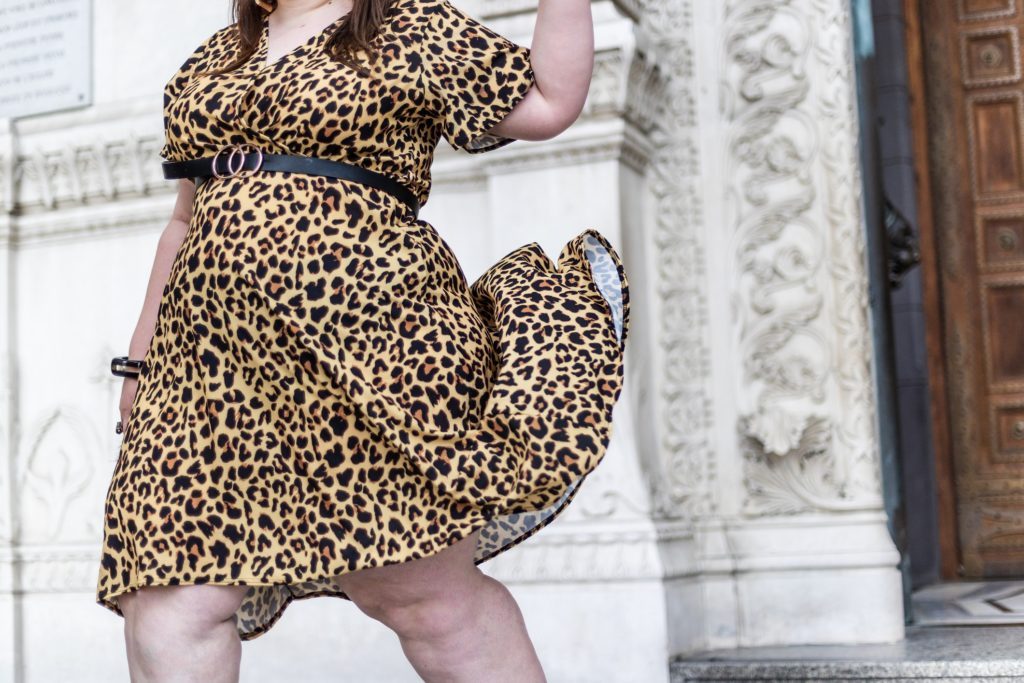 look leopard grande taille
