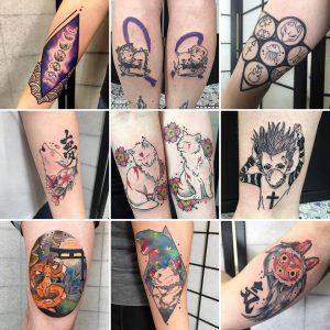 hachi tatouage japan artist ink french girl tokyo nakano