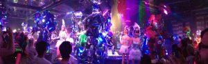 tokyo travel curvy girl city guide japan robot restaurant shinjuku