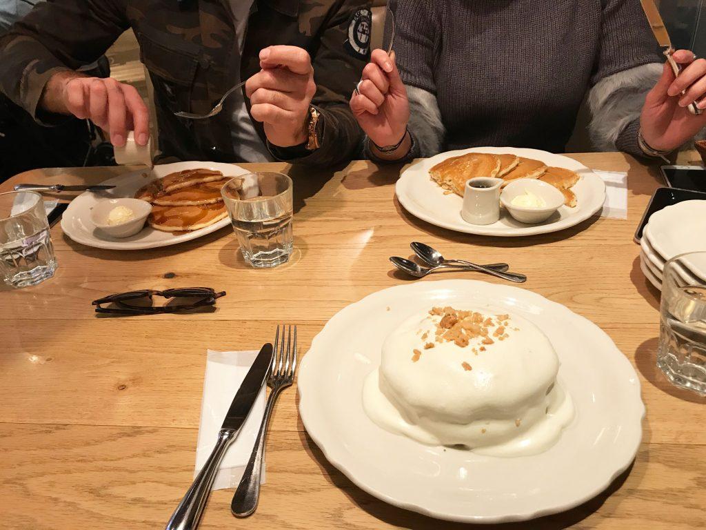 pancakes fluffy cloud yummy kawaii harajuku tokyo
