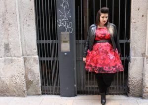 red dress dorothy perkins plus size