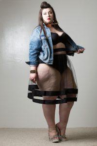 jupe transparente forever21 blog mode grande taille virginie grossat