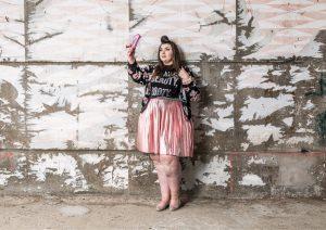 Virginie Grossat blog mode grande taille plus size moschino