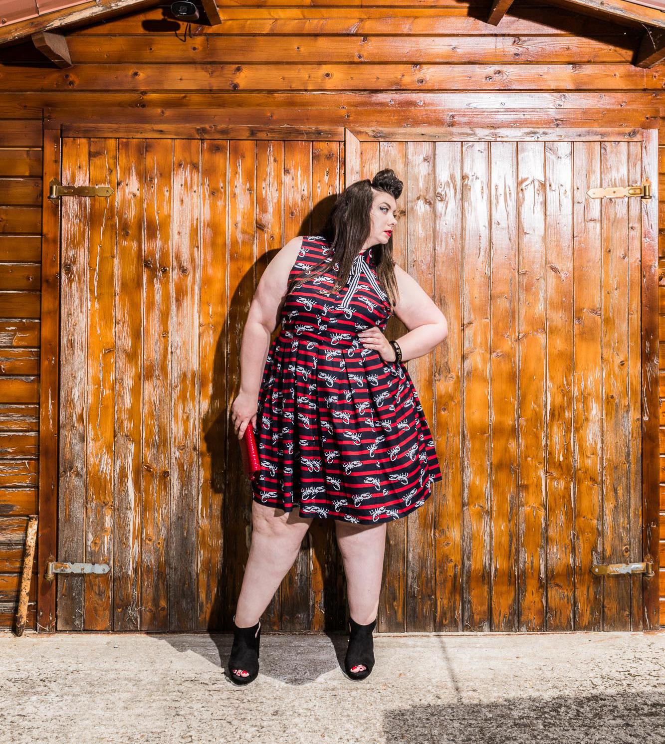 Scorpio dress eloquii plus size curvy girl blog mode grande taille