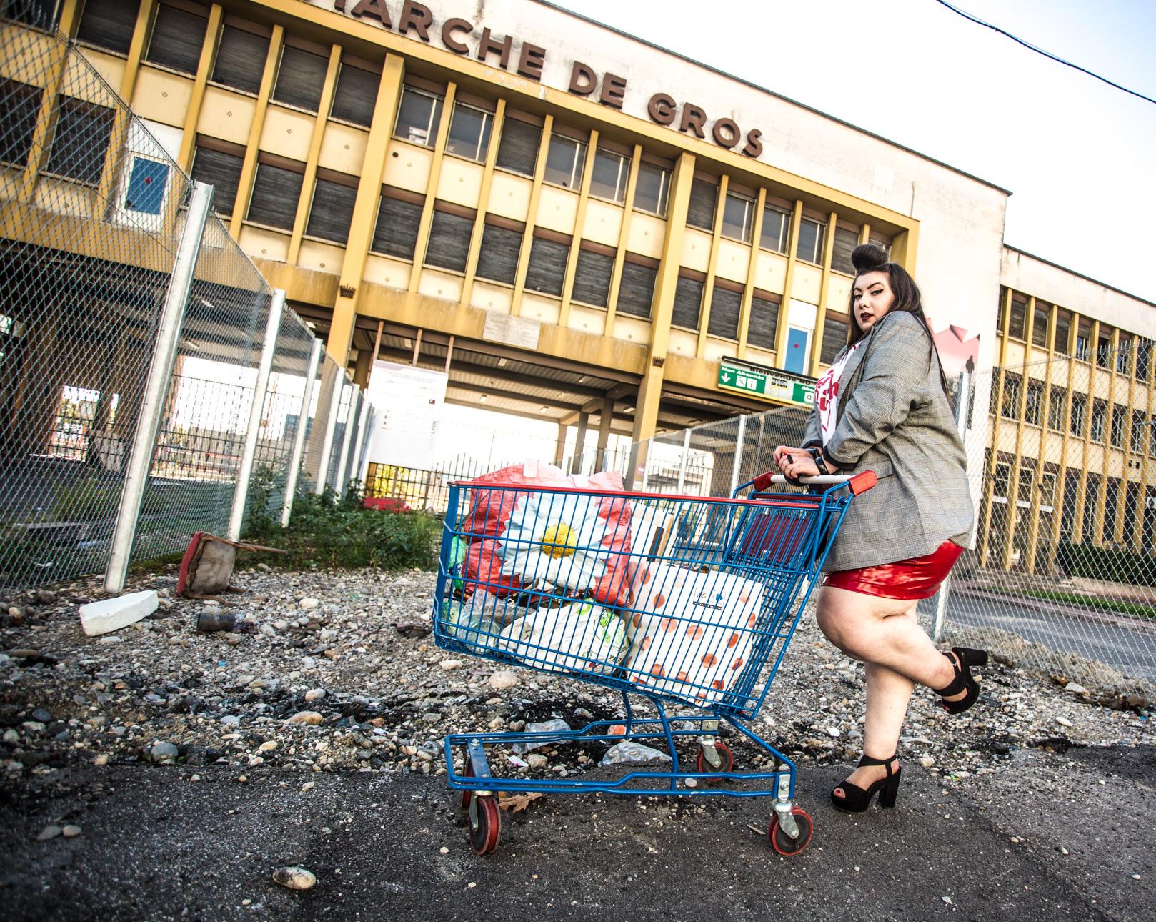 vinyle asos curve prince de galles new look fat bitch curvy girl blog plus size grande taille