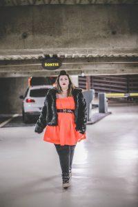 plus size blogger model asos curve orange bbw curvy girl ronde grosse blog