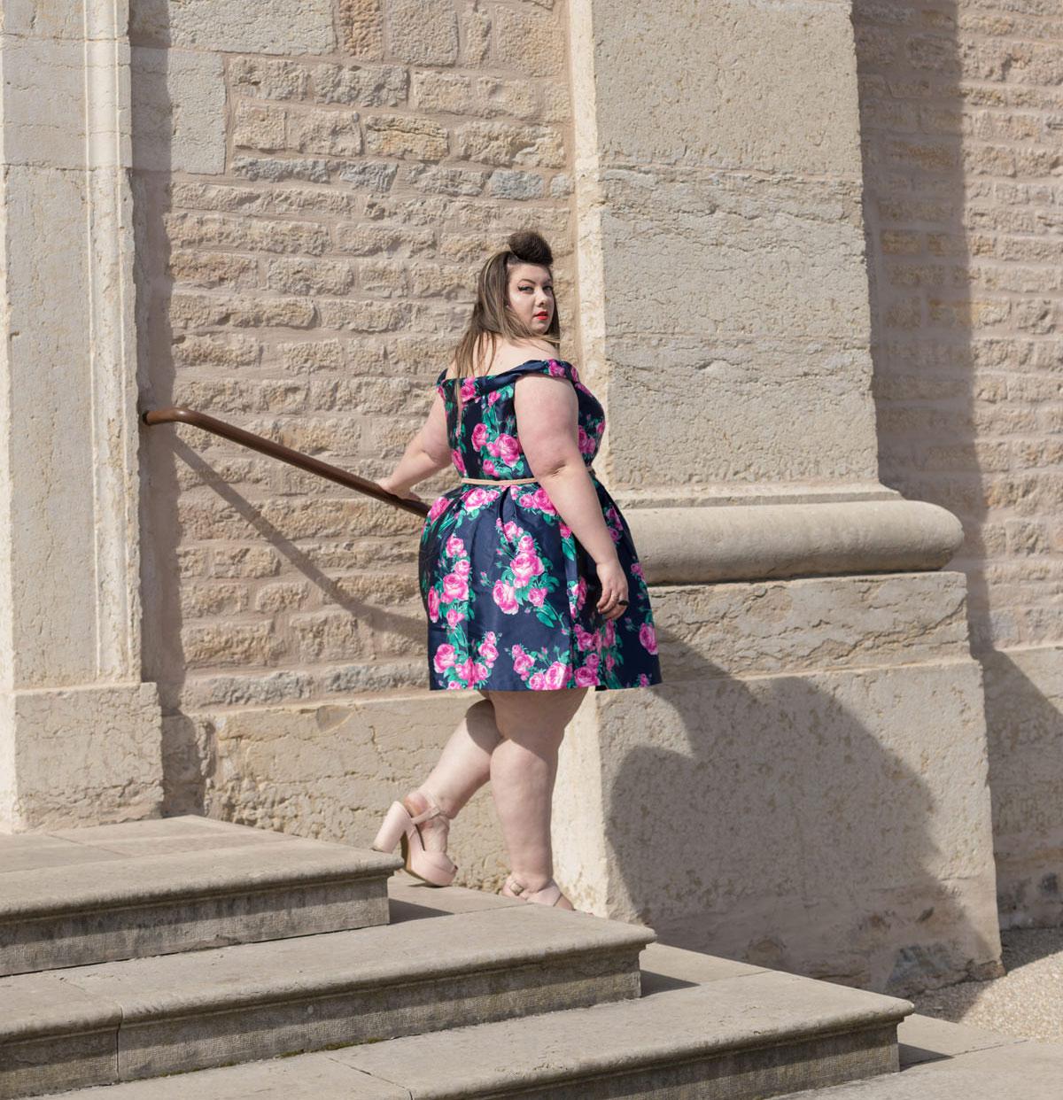 wedding dress chichi london curve plus size curvy girl plus size blogger ronde grande taille