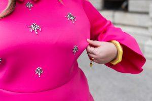 asos curve neoprene dress plus size blogger curvy girl ronde body positive mode grande taille