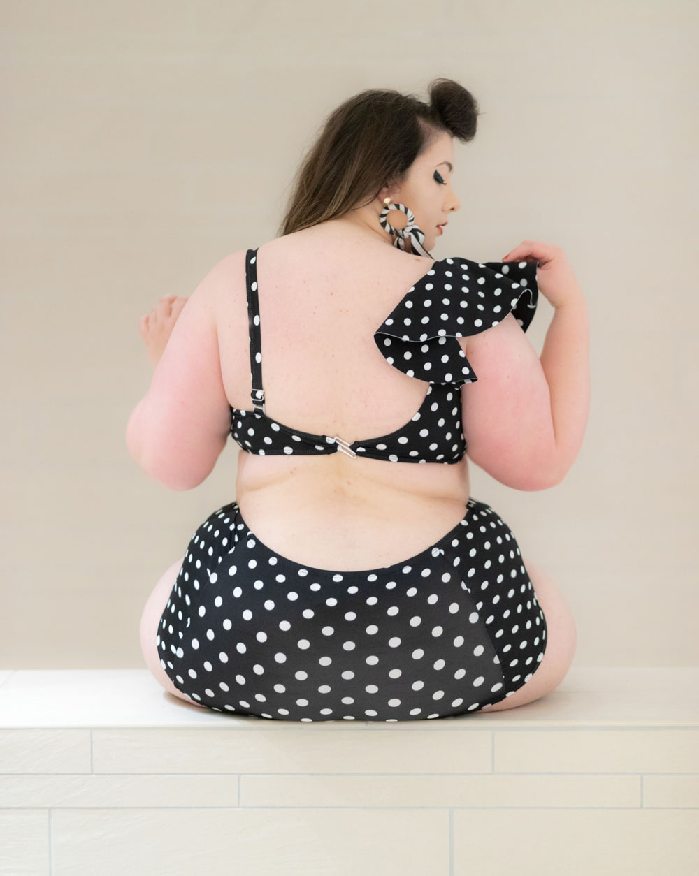 eloquii swimsuit swimwear maillot de bain grande taille bikini blog ronde bodypositive