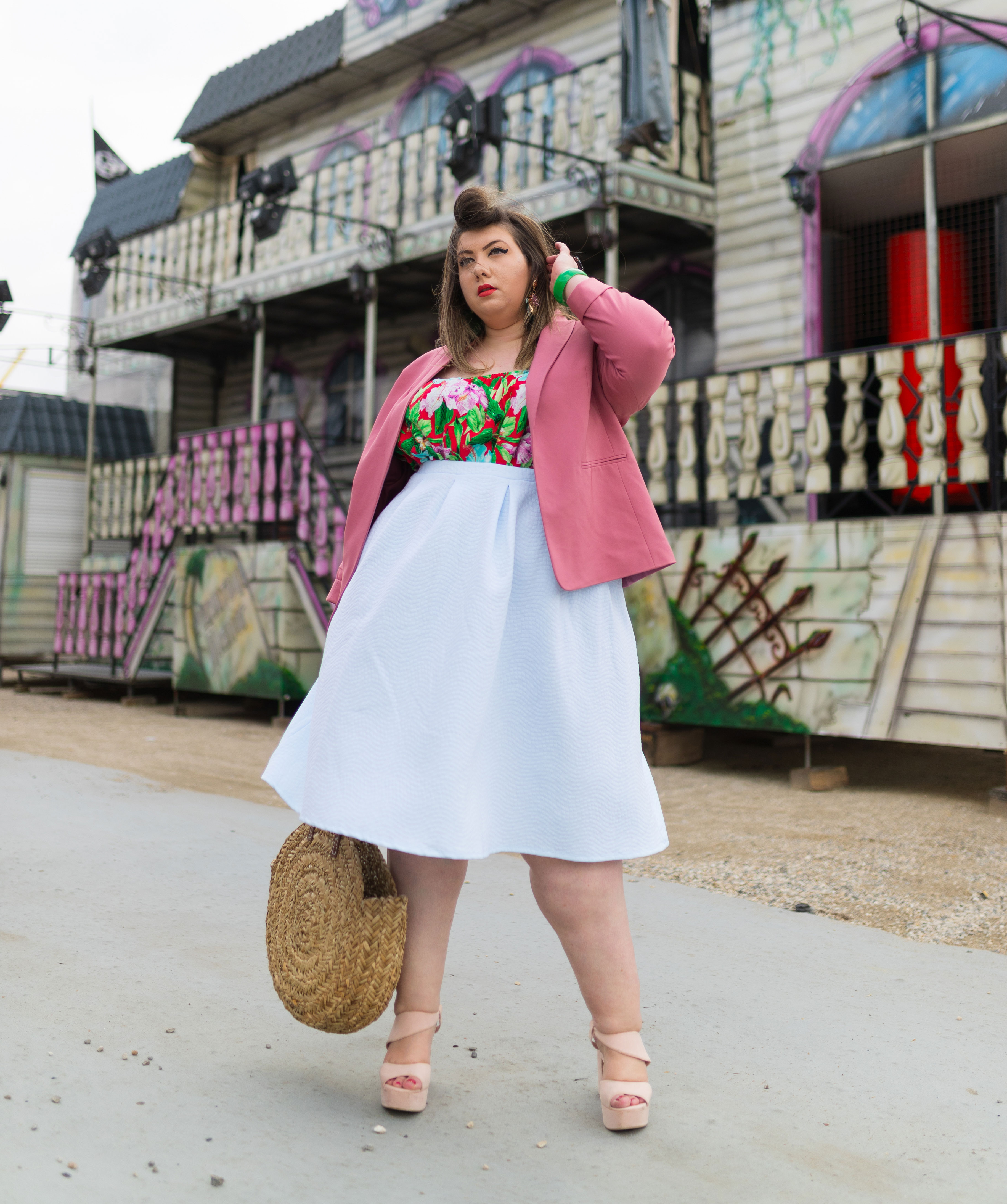 curvy girl mode grande taille lalaa misaki gemo plus size fashion blogger