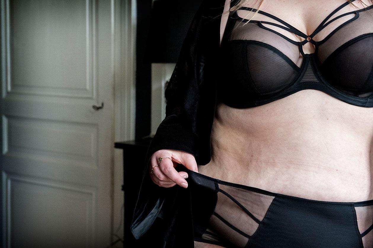 lingerie grande taille elomii toutes les poitrines plus size curvy girl blogger