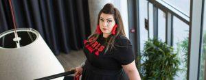 lovedrobe plus size grande taille curvy girl blogger ronde jupe top girls bbw big booty