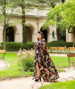 pretty little thing plus size grande taille curvy girl maxi dress blogger fashion