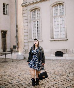 plus size blogger asos curve curvy girl blogger fashion lyon ronde grosse mode grande taille leopard