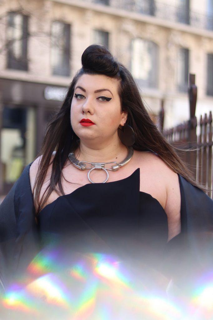 river island plus little black dress plus size grande taille blogger ronde fat bbw virginie grossat lyon
