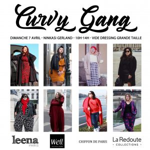 vide dressing grande taille lyon curvy gang ninkasi blogueuses stephanie zwicky ronde curvy