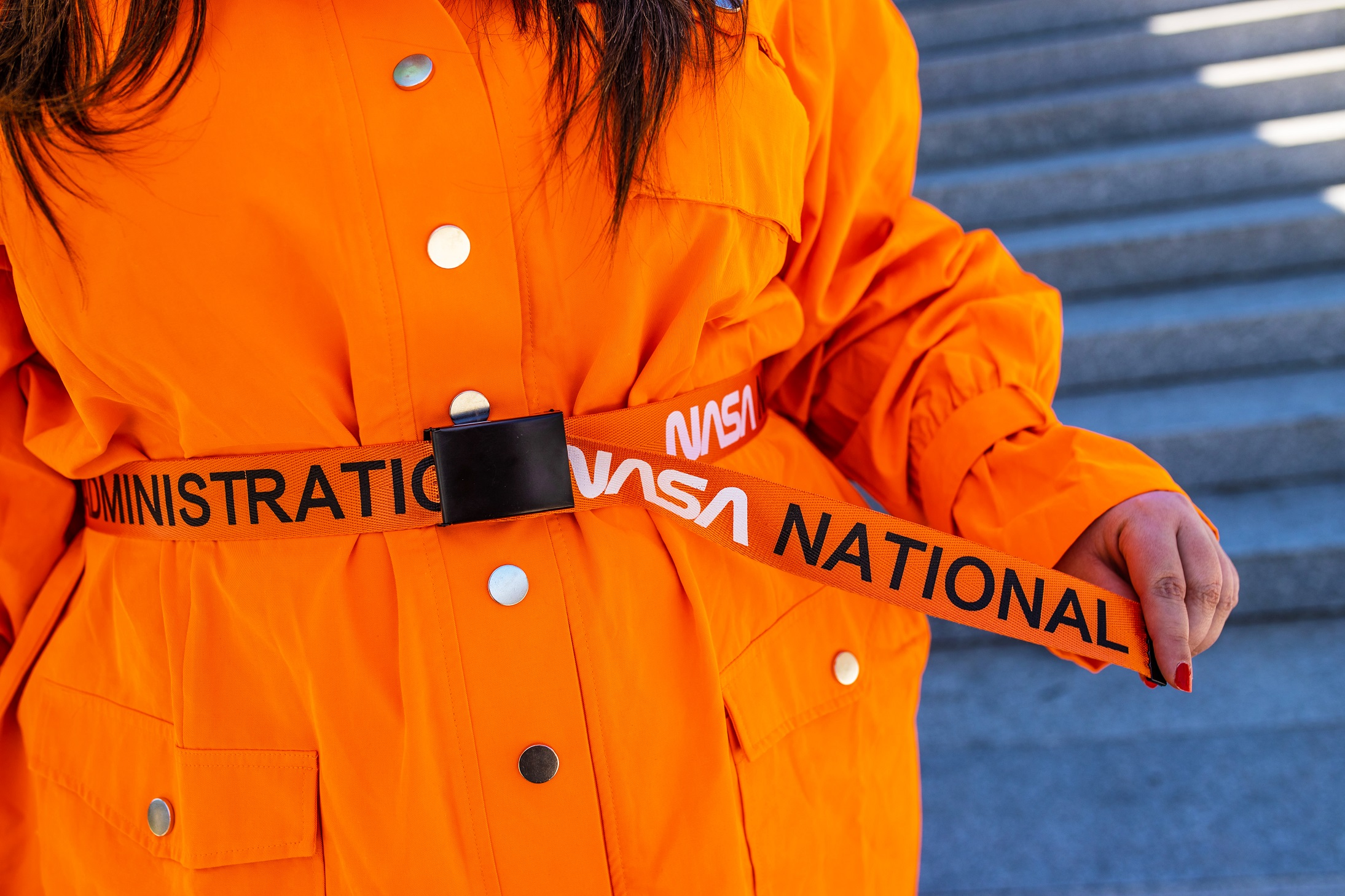 robe orange cargo